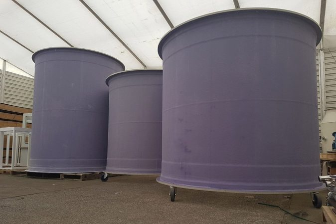 process fume scrubber, tower scrubber, GRP coated, new jobs
